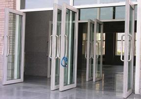 平移自动玻璃感应门
