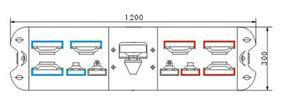 TBD024221透明罩氙灯频闪式警示灯