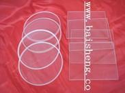 供应石英玻璃、耐超高温玻璃、圆形玻璃、异形玻璃、观火镜