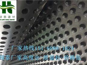 辽宁葫芦岛凹凸型车库排水板厂家高度20mm