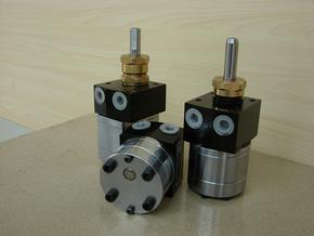 5cc电机带动转速油漆齿轮泵