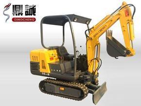 鼎诚全新1.5吨履带式小型液压挖掘机