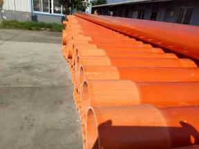 CPVC高压电力电缆保护套管 PVC电力管