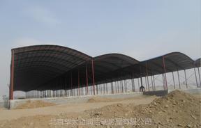 农贸市场钢结构大棚集贸菜市场彩钢棚市场钢结构工程公司厂家