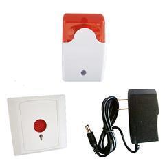 无障碍求助复位按钮厂家 无障碍声光报警装置 残卫报警控制器