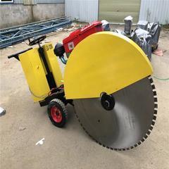 路面切割机马路切割机 手扶式电启动切割机 马路切割机 混凝土路面切割机