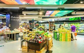 长沙水果蔬菜超市设计 长沙水果蔬菜超市装修找专业壹番设计
