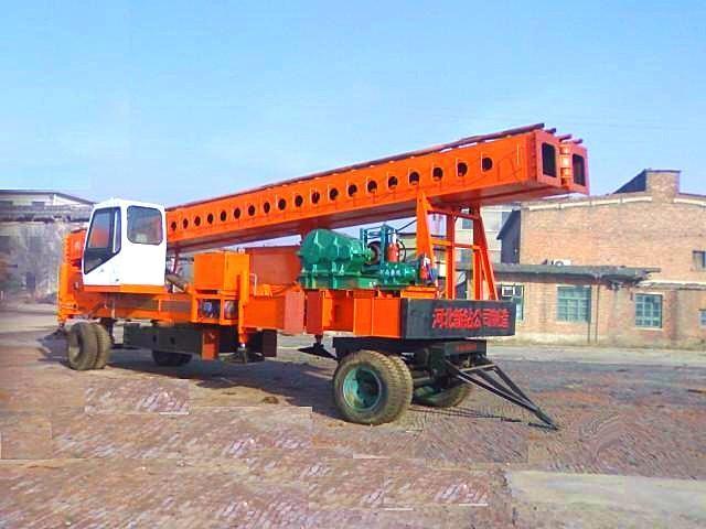 20米长螺旋钻机北京河北河南西安桩基施工