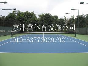 丙烯酸厂家施工网球场丙烯酸施工
