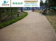 长治透水混凝土/长治透水路面/长治彩色透水混凝土艺术地坪/长治彩色透水地坪