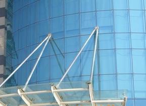 供应郑州平弯钢化中空夹胶玻璃