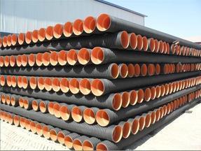 供应内蒙古赤峰大口径PE排污管