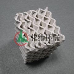轻质强化瓷波纹规整填料