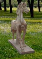大理石马雕刻 MGH513