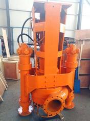 挖机排泥泵 挖机液压泥浆泵 液压驱动抽泥泵