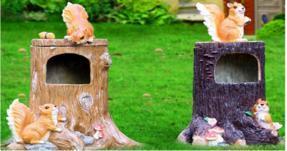 西安玻璃钢垃圾桶,仿树桩垃圾箱艺术造型高端定制厂家就找陕西志诚塑木