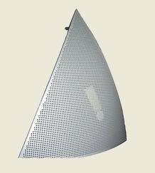 球幕铝板加工-球幕金属板厂家