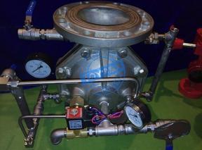 ZSFM不锈钢隔膜式雨淋报警阀