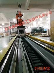 第七轴关节机器人地轨-苏州通锦