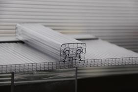 U型防水锁扣阳光板、防水阳光板
