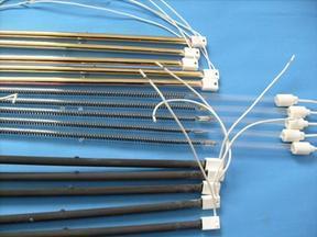 远红外黄金加热管、双管电加热