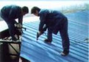 厂房彩钢瓦更换加固
