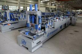 全自动C型钢檩条机:C80-300/前后剪/液压传动