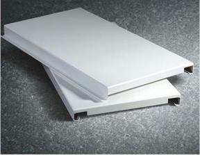 白色铝板幕墙吊顶 氟碳聚酯2mm 2.5mm铝单板