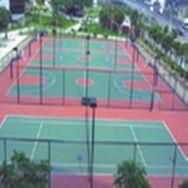 标准球场跑道地坪漆,广州地坪漆,篮球场地坪漆,丙烯酸球场