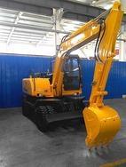 沃尔华厂家直销DLS880-9A 7.2吨轮式挖掘机