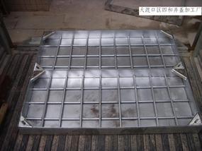 不锈钢电力井盖1000*1000*100*3