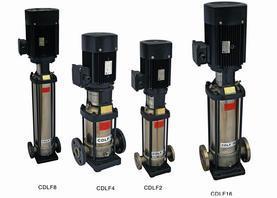 水手供水CDLF不锈钢多级离心泵