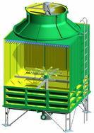 玻璃钢雾化冷却塔