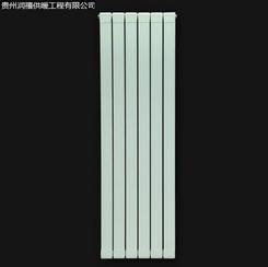 贵州六盘水暖气片供应商-铜铝复合75X75散热器