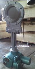 電動耐磨薄型閘閥