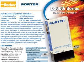 派克液体流量控制器parker快速响应液体流量控制器