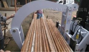 中德诺克叉车钢管夹建筑工地搬运钢管叉车夹