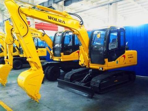 沃尔华厂家直销DLS880-9B 7吨履带式液压挖掘机