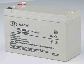 供应鸿贝牌12V7AH阀控铅酸免维护蓄电池