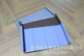 铝镁锰合金金属屋面板直立锁边YX65-430型