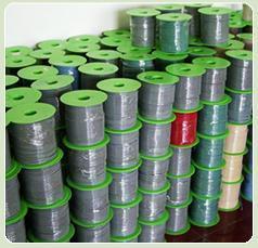 塑胶地板及焊线