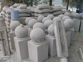 深圳石材加工雕刻打磨df黄锈石芝麻黑红色石材批发直销