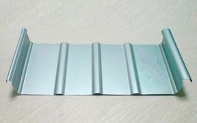 直立锁边铝镁锰板65-430 直立锁边铝镁锰板 铝镁锰合金屋面板