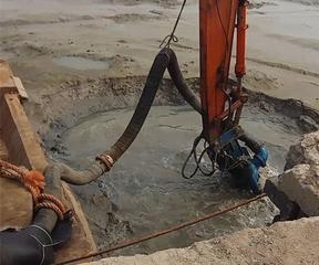 水上挖机用清淤泥浆泵