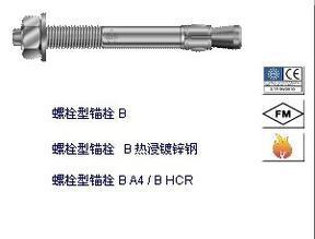 原装进口规格M20高强锚固螺栓式锚栓
