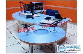 北京专业生产豪华直播桌编辑桌访谈桌