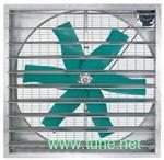 土禾低噪音塑钢风机/静音风机