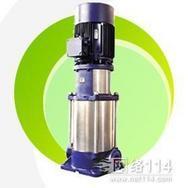 立式多级单吸管道式离心泵