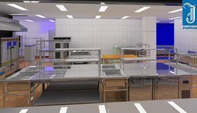 深圳嘉华厨房设备,不锈钢厨具厂家,厨房工程公司