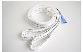 低价促销白色吊装带 扁平吊装带型号 2吨4米吊装带价格